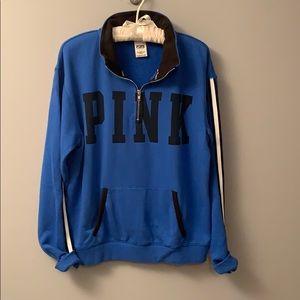 PINK 1/2 zip fleece
